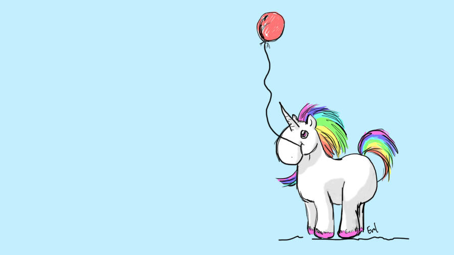 extremely cute wallpapers of unicorn - photo #15