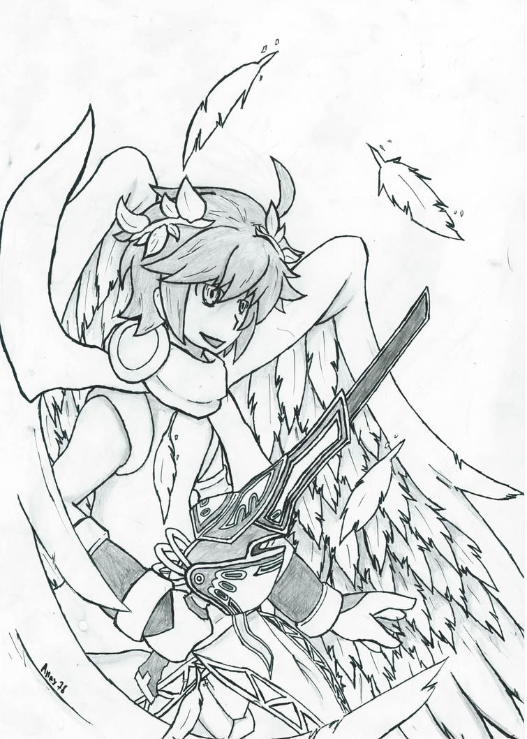 Kid Icarus Pit By ProbaOne