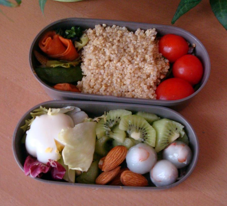 Bento quinoa by Vetriz