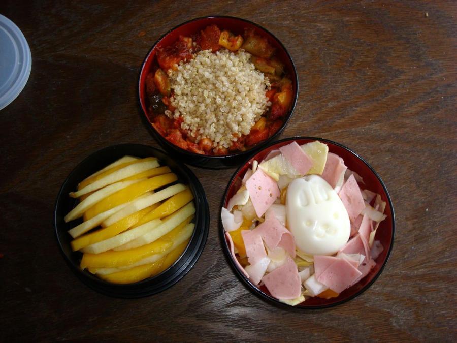 Bento quinoa 2 by Vetriz