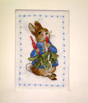 What a greedy this Peter Rabbit !