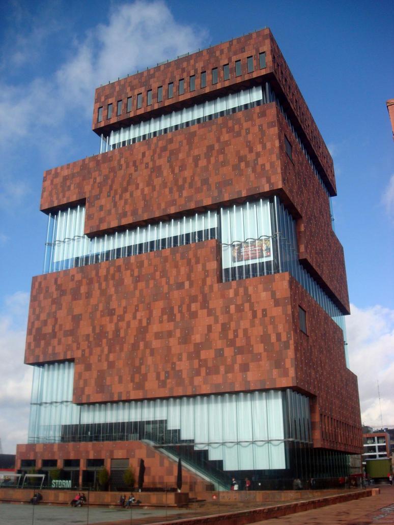 Museum Aan de Stroom (Antwerp) by Vetriz