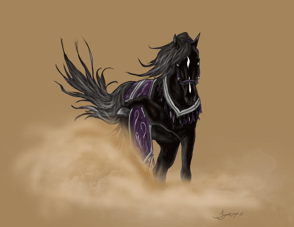Black Arabian by Syeiraxx on DeviantArt