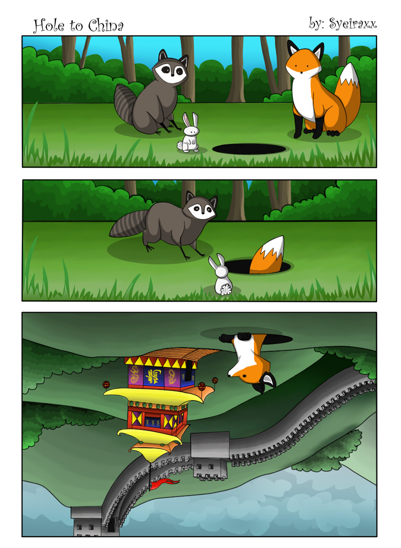 Hole to China by Syeiraxx