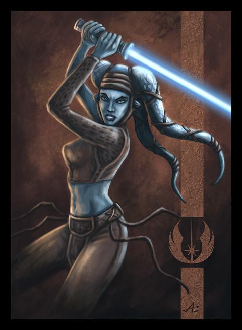 Jedi Aayla by Jakdaw