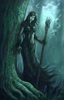 Dryad Forest by Jakdaw