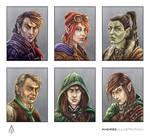 NPC Fantasy Portraits