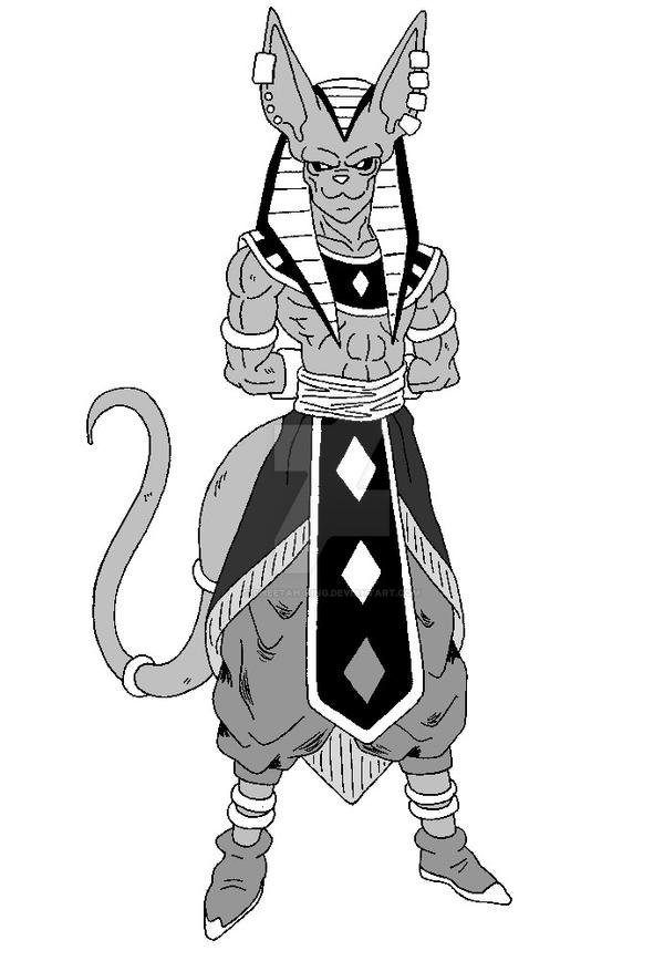 God 8 Beerus The God Of Destruction Af By Cheetah King On Deviantart