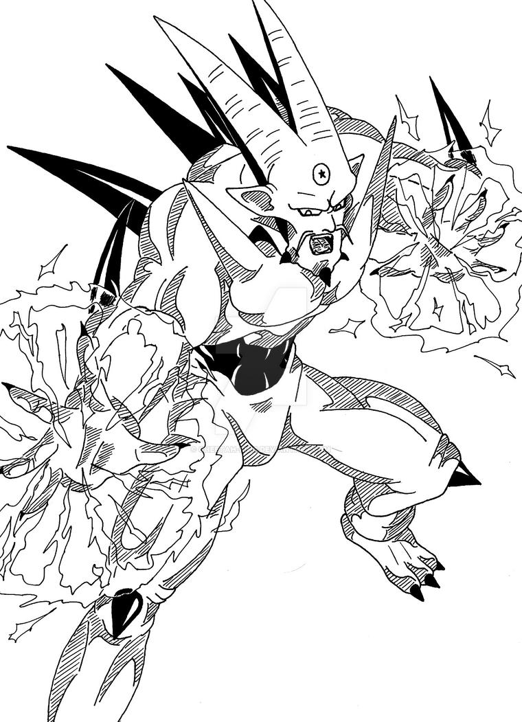 mechant dragon ball gt