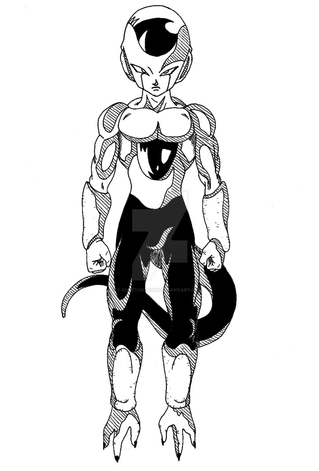 DBS - Frost Final Form by Cheetah-King on DeviantArt