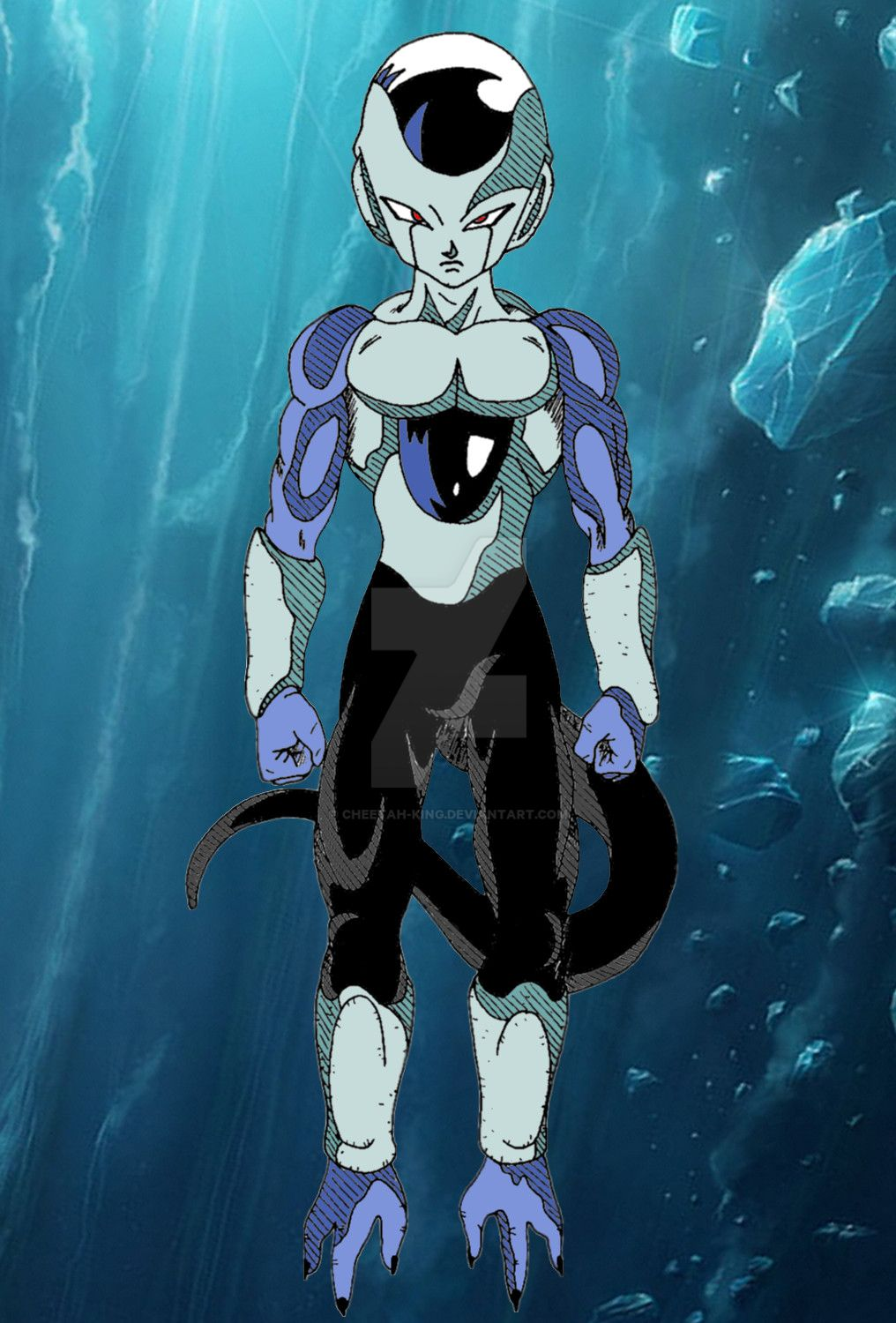 DBS   Frost Final Form Colored by Cheetah King on DeviantArt