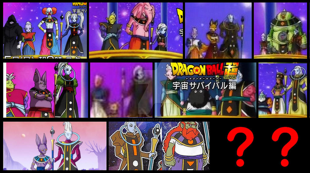 DBS - New Gods of Destruction and Angels Revealed by Cheetah-King