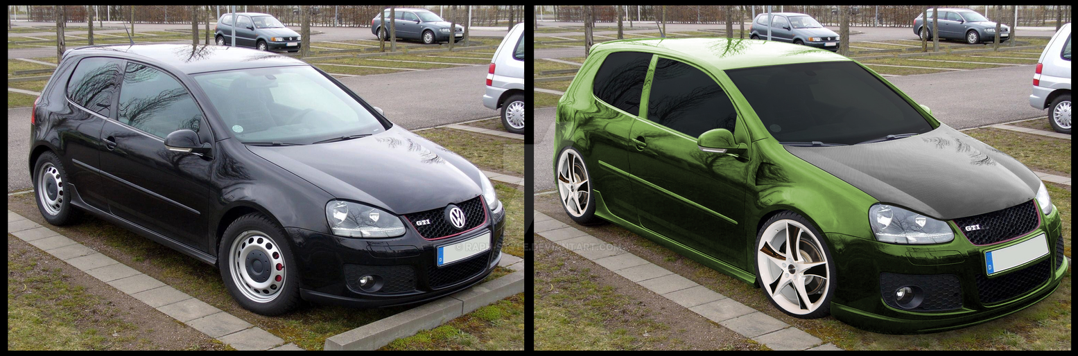 tuning auto vw golf 5