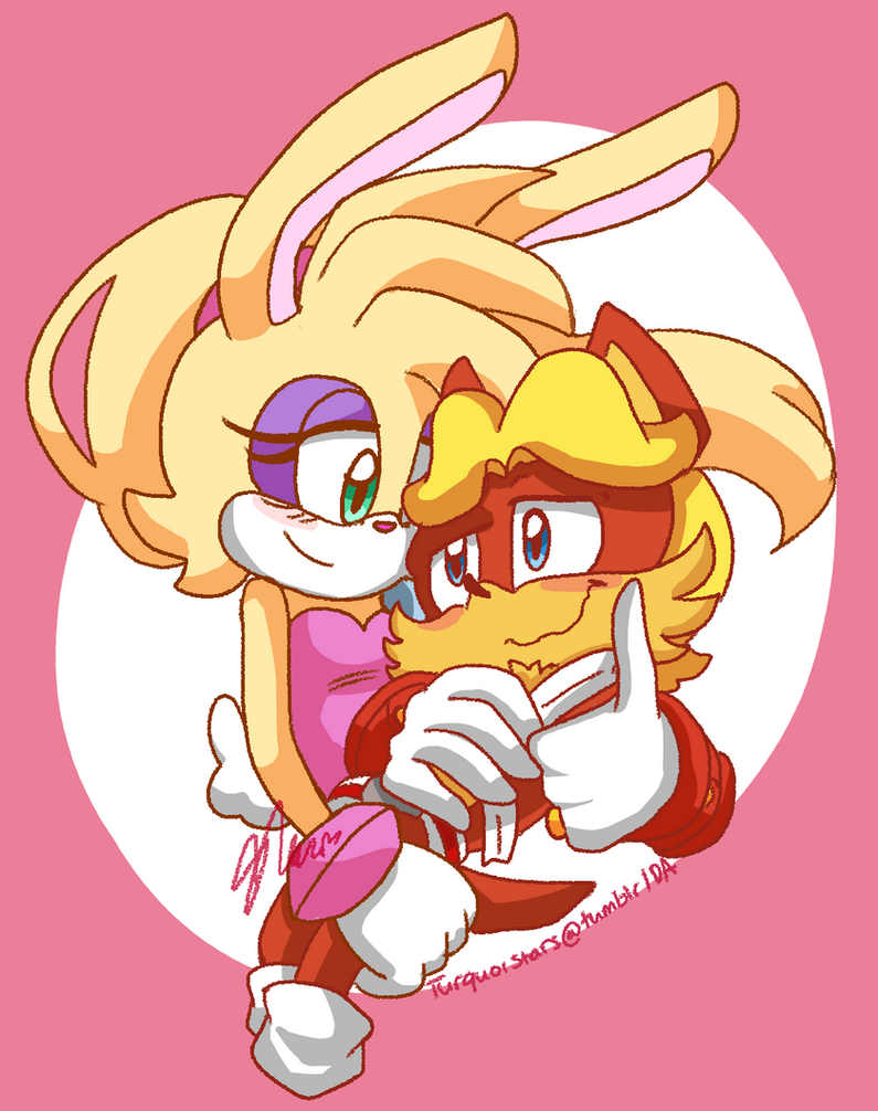 Bunnie and Antoine by turquoistars