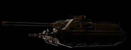 TD-1 Tank Destoryer Thatcher by Gizoozaa