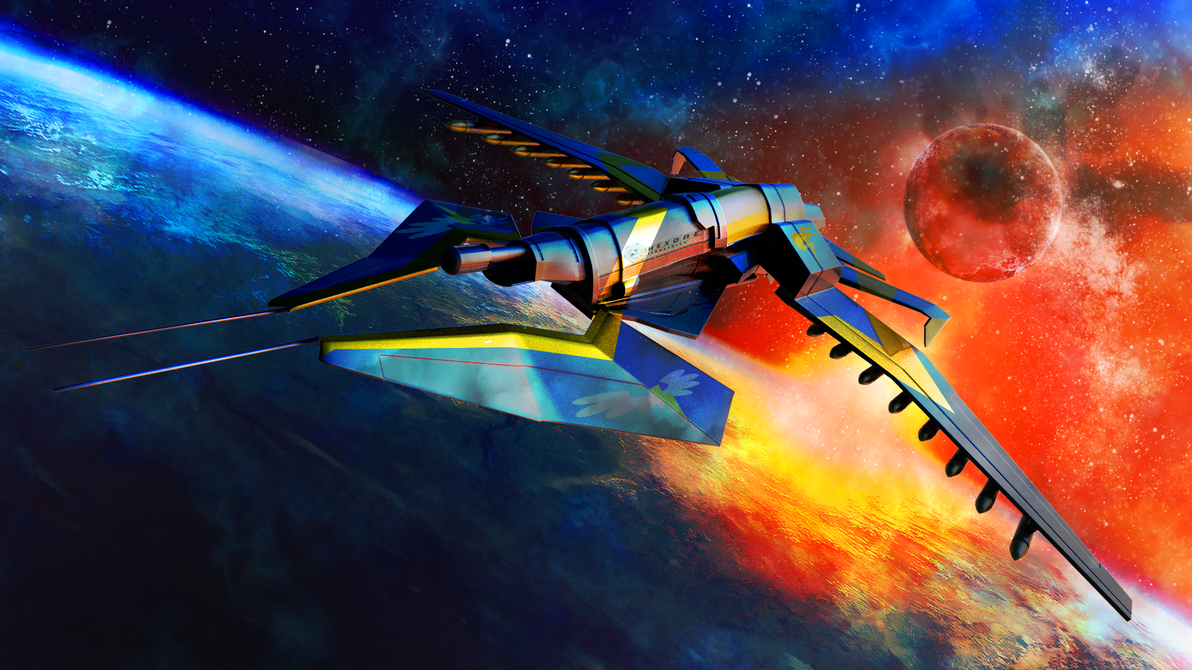 Wonderbolt's Spitfire by Gizoozaa