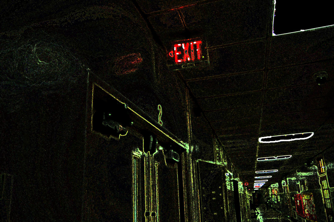 Exit Through the Backdoor by Ayayronm