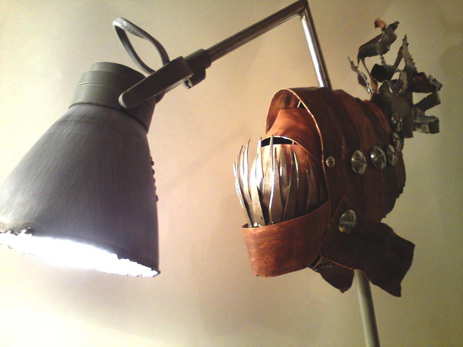 Angler Fish Lamp by skibbic