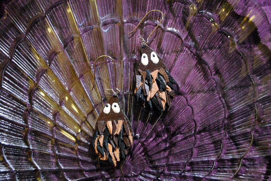 Hedgehog earings by Paradigma62