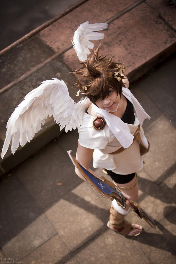 SSB: Pit Kid Icarus by da-monkey