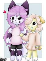 Two Furros by YamiiyOwO