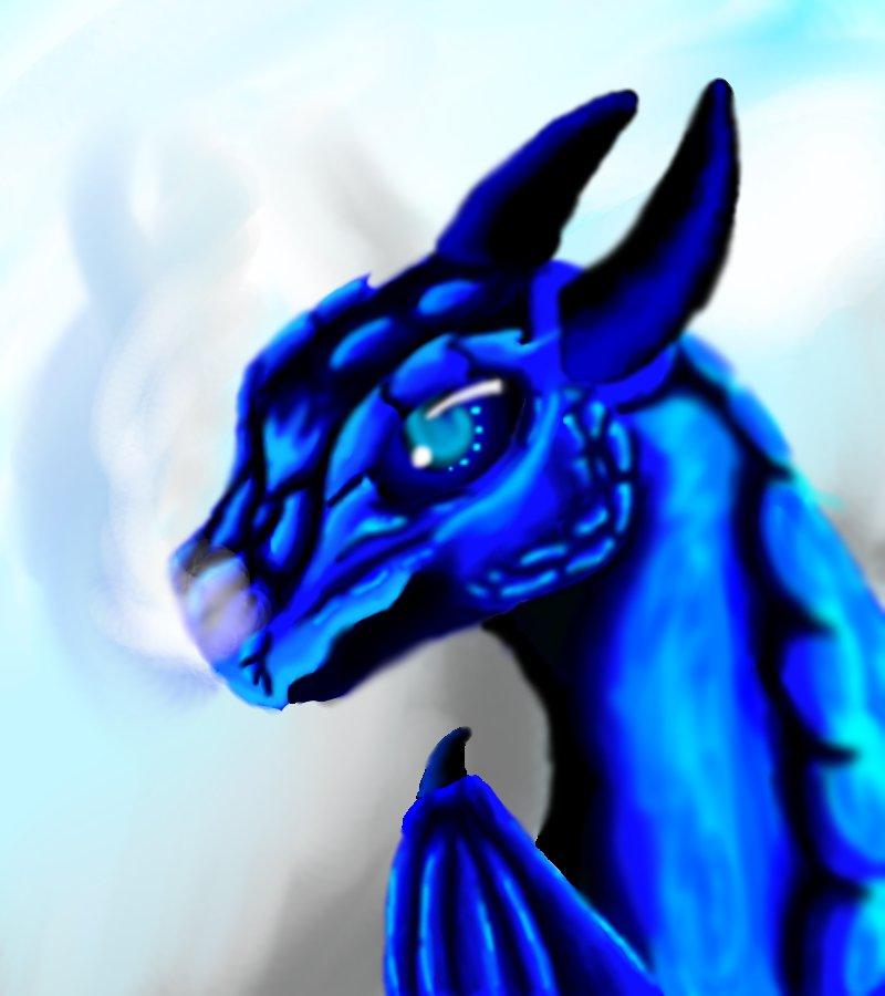 I m blue