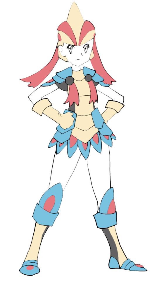 Milotic Armor Rough by silverwinglie