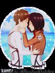 Beside me...[Mikasa x Eren]