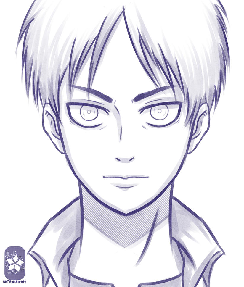 Eren Jaeger  Shingeki no Kyojin  by Antifashion19Eren Jaeger Drawing