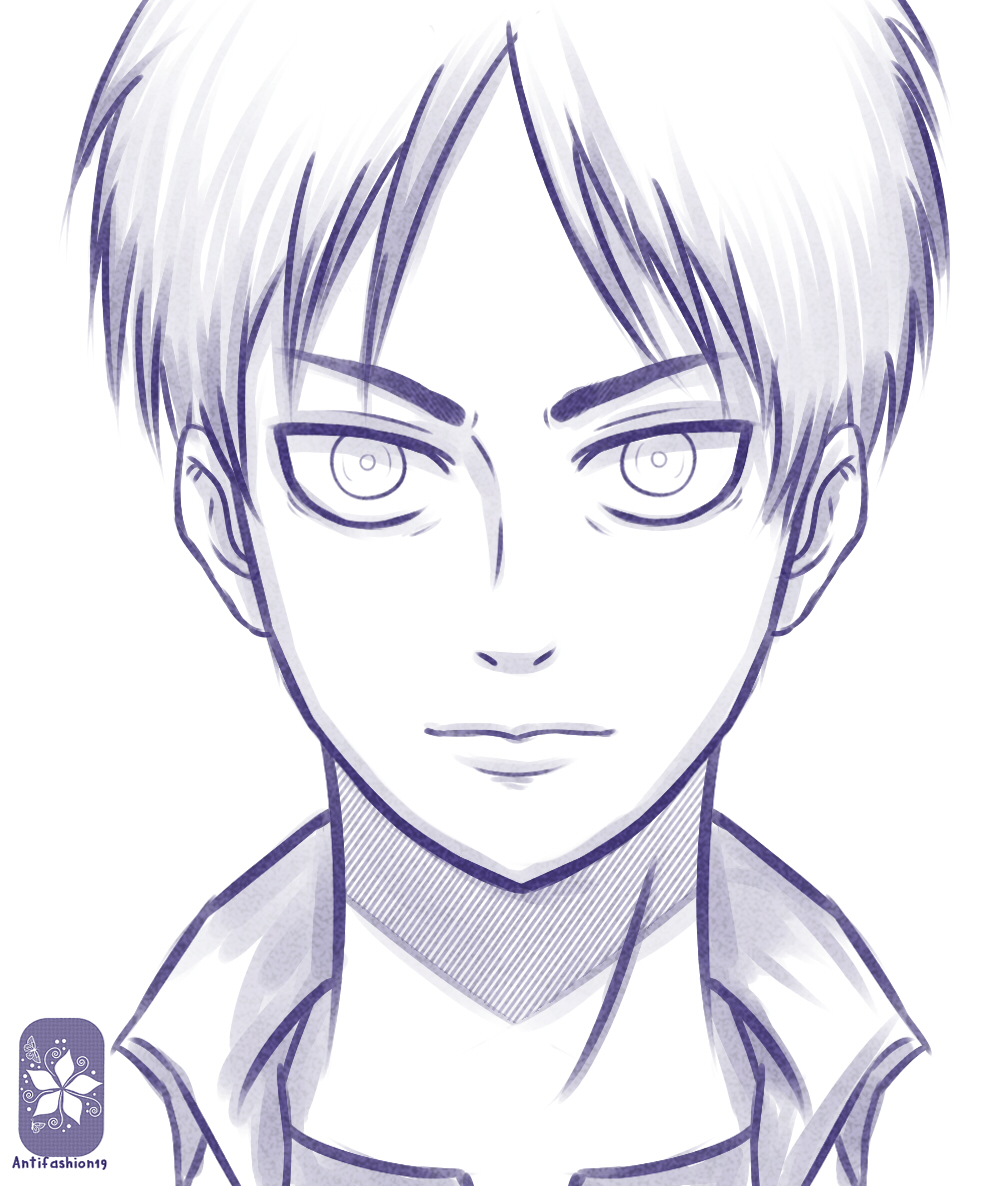 Eren jaeger drawing - photo#11