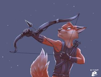 As Robin Hood by O-ruff
