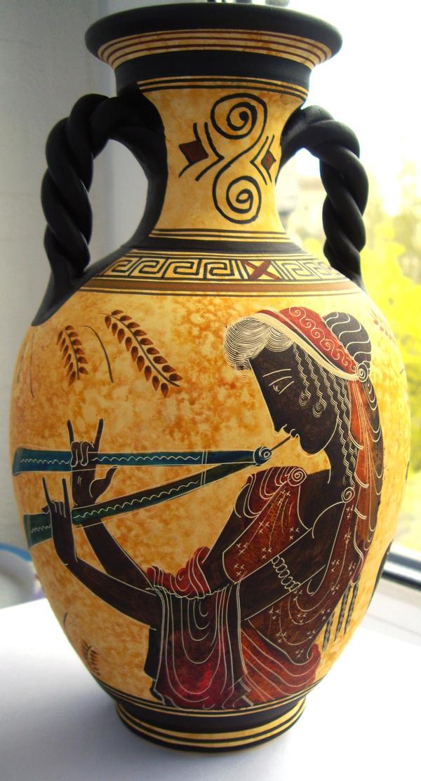 Greek Vase -I