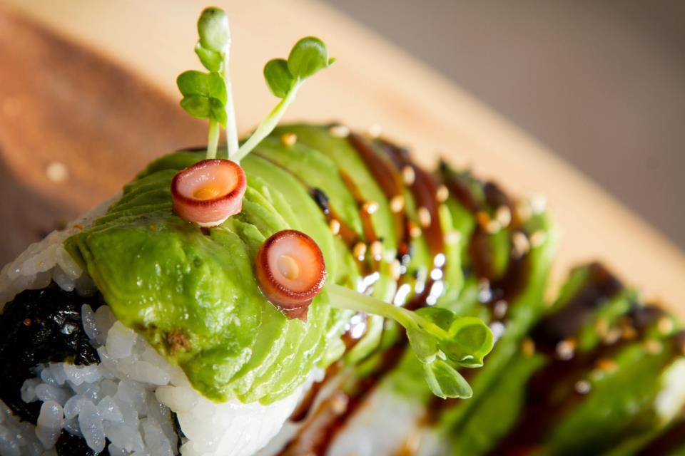 Caterpillar Roll Sushi Caterpillar Roll Watching You
