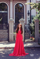 Red dress by Crizata
