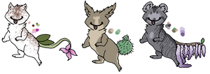 CLOSED Root Adoptables! #2! by LillyofIndominus