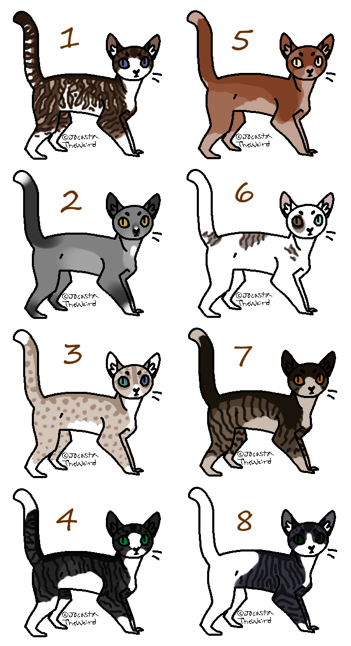 Closed Cheap Cat Adopts! by LillyofIndominus