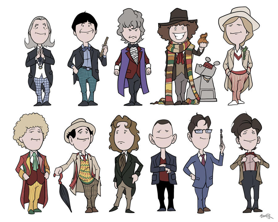 doctor who cute doctors by thecommonwombat on deviantart