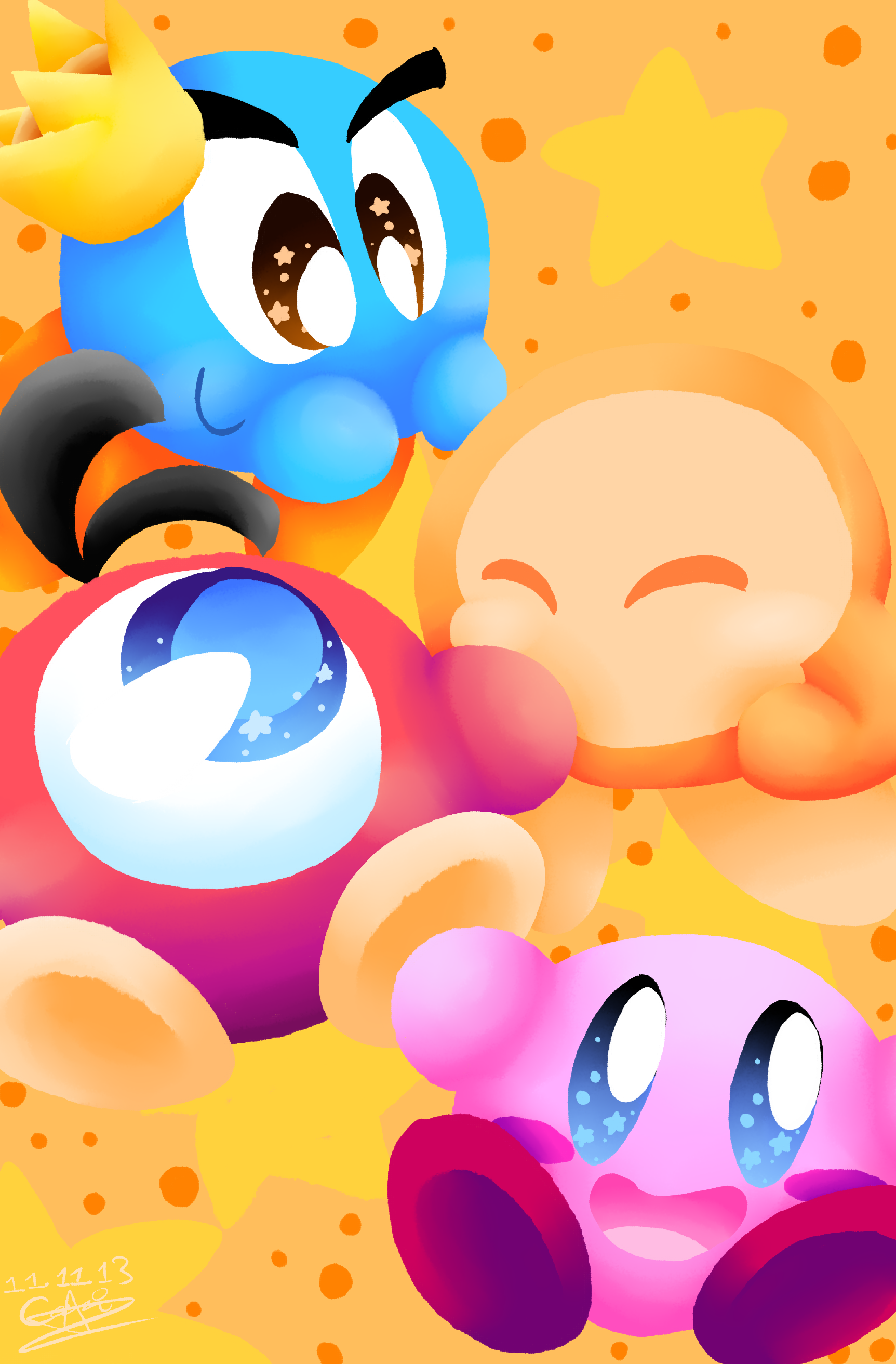 Kirby's Dream Zine Submission 2 by CinnamonMuffins