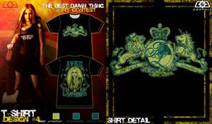 Avril Tshirt contest sub. 4-1