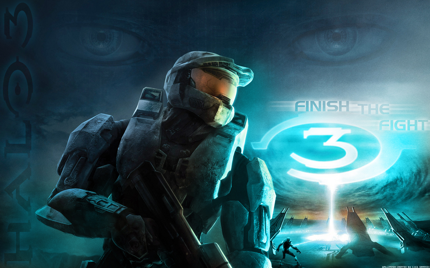 halo 3 wallpaper fan artc0g-graph1x on deviantart