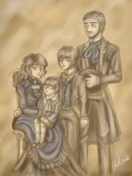 The Caelum family 1896 by Merruschka