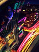 city of lights by mangoshell