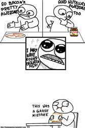 Nutella Bacon Sandwich