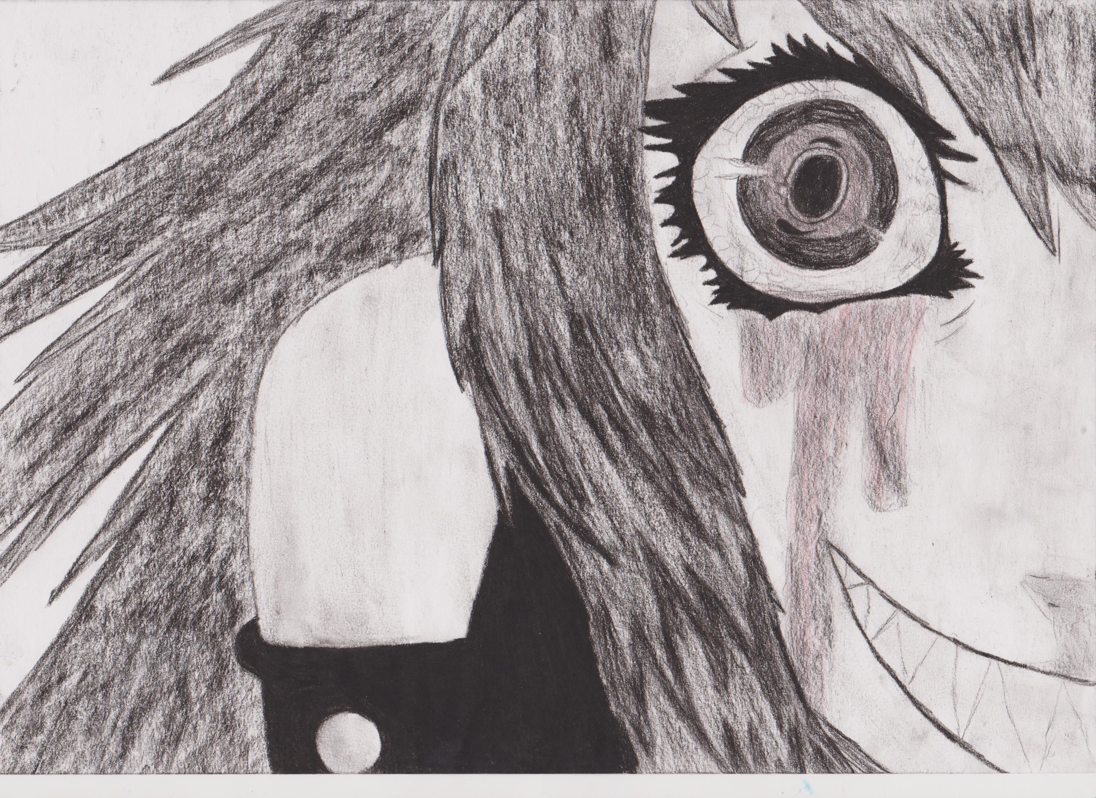 Creepy Anime Girl By ShionSonozakii On DeviantArt