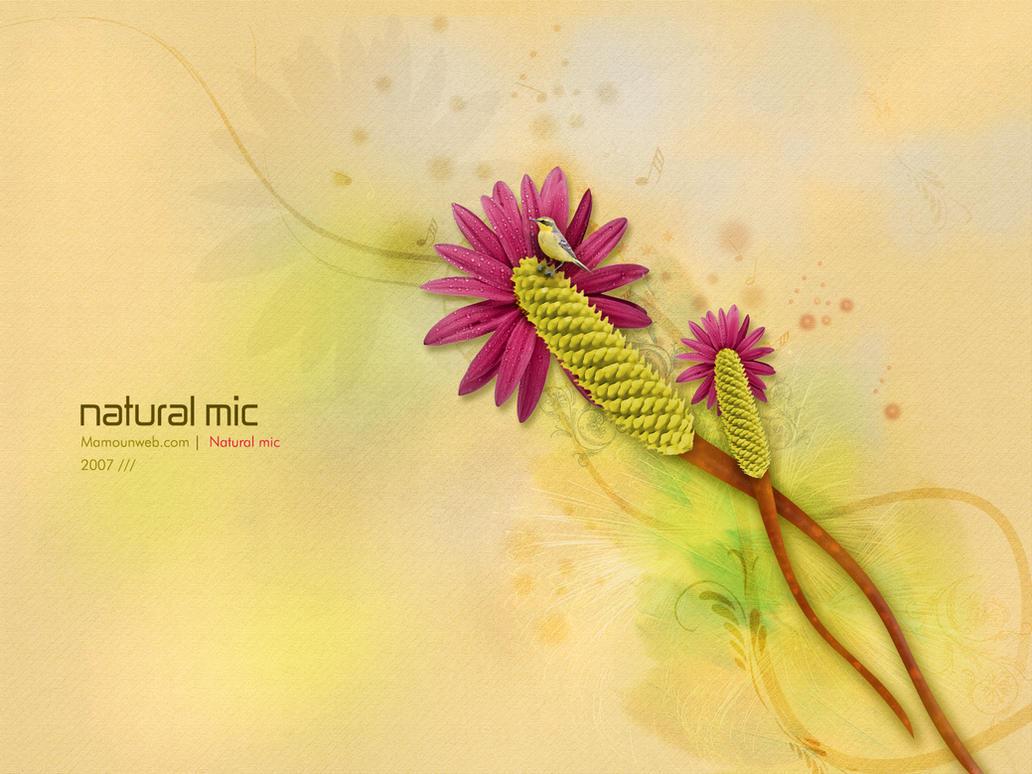 Natural mic II by mamoun