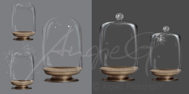 Ball Glass Jars - High Resolution PSD Files