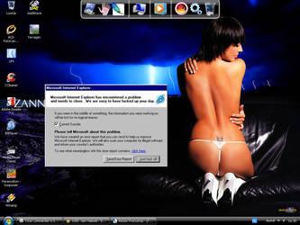 My Desktop, january, 2008 by rozoga666