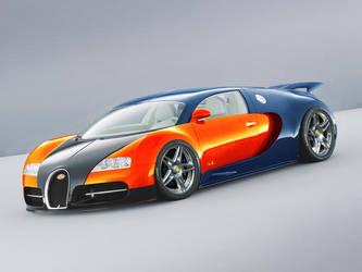 Bugatti Veyron tuned by rozoga666