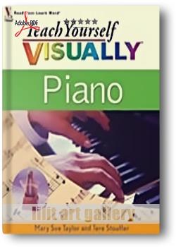 کتاب آموزش، خودآموز تصویری پیانو