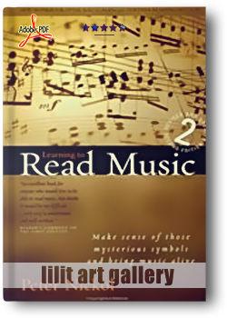 کتاب آموزش، خواندن نت موسیقی